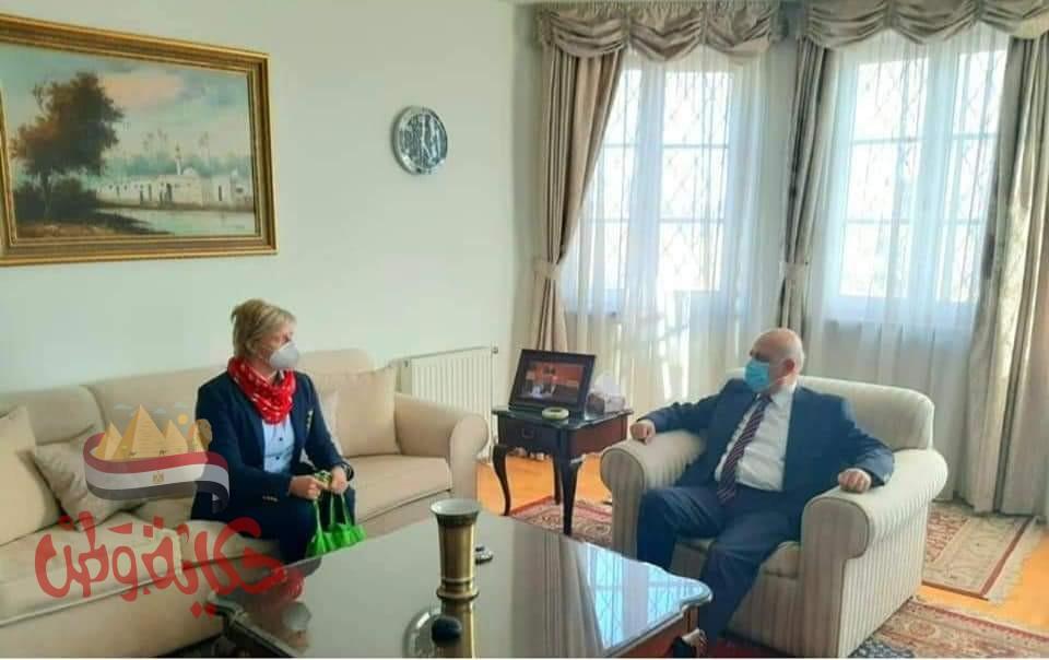 السفير المصرى فى بودابست