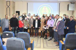تواصل فعاليات دورة الدراسات الإستراتيجية والأمن القومى بمركز تطوير الأداء الجامعى بجامعة المنصورة