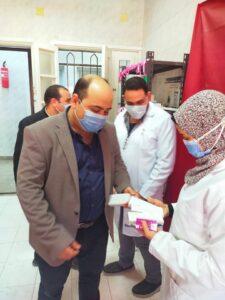 وكيل صحة الغربية يوجه بالمرور المسائى على مستشفى حميات بسيون