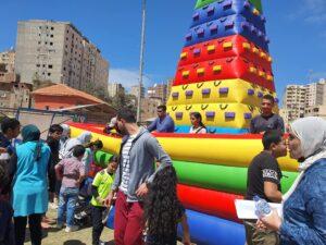 انطلاق احتفالية اليوم العالمى لاطفال التوحد بالمدينه الشبابيه بالاسكندريه.......