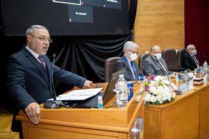 رئيس جامعة طنطا يفتتح الملتقى ال 26 لتدريب طلاب الجامعات العربية