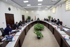 اجتماع مجلس أمناء الجامعة المصرية