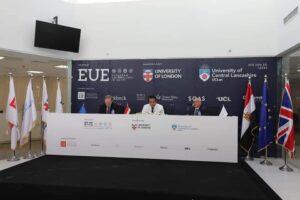 وزير التعليم العالي وسفير الاتحاد الأوروبي يتفقدان مقر مؤسسة الجامعات الاوروبية بالعاصمة الإدارية الجديدة