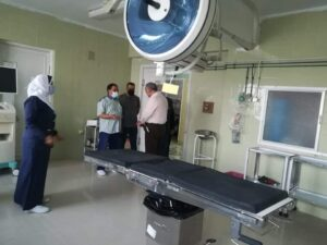 وكيل صحة الغربيه . يشدد على المتابعة والمرور علي مستشفيات المحافظة.