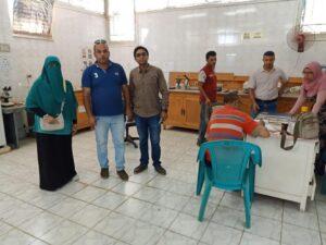 """وزير التنمية المحلية يتابع مع محافظ الغربية تنفيذ مشروعات تطوير الريف المصري """" حياة كريمة"""""""