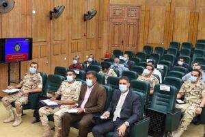 محافظ قنا يستقبل وفد من مجلس الوزراء لمتابعة مشروعات حياة كريمة