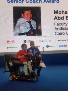 فوز مدرس مساعد بكلية حاسبات جامعة القاهرة بجائزة مسابقة البرمجة الجامعية الدولية.